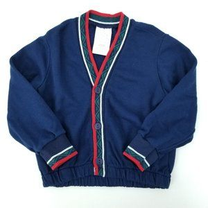 90s Good Lad Boys 4T Acrylic Sweatshirt Cardigan